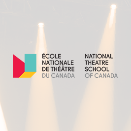 Prix pour un projet de perfectionnement professionnel  présenté par l'École Nationale de Théâtre